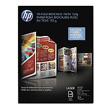 HP Laser Tri Fold Brochure Paper