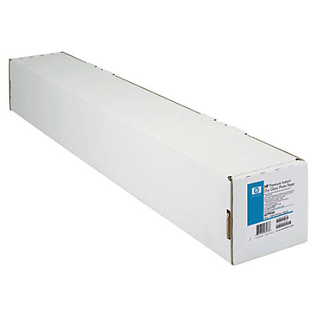"HP Premium Instant-Dry Gloss Photo Paper, 36"" x 100', 180 Lb"