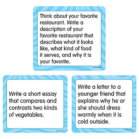 "Carson-Dellosa™ Story Starters: Explanatory Curriculum Cut-Outs, 6"" x 6 1/2"", Pack of 36"