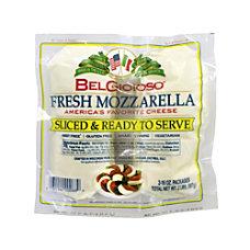 BelGioioso Pre Sliced Mozzarella 16 Oz