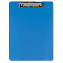 OIC Low profile Clip Plastic Clipboard