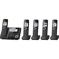 Panasonic Link2Cell KX TGF345B Cordless Phone