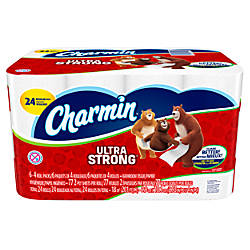 Charmin Ultra Strong 2 Ply Bathroom