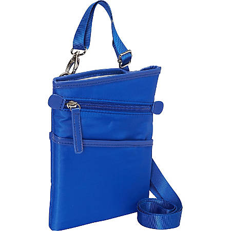 "WIB Dallas Carrying Case for 7"" iPad mini - Blue - Microsuede Interior - Shoulder Strap"