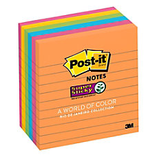 Post it Super Sticky Notes 4