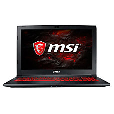 MSI GL62MX1048 VR Ready Laptop 156