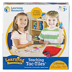 Learning Resources Tac Tiles Teaching Set