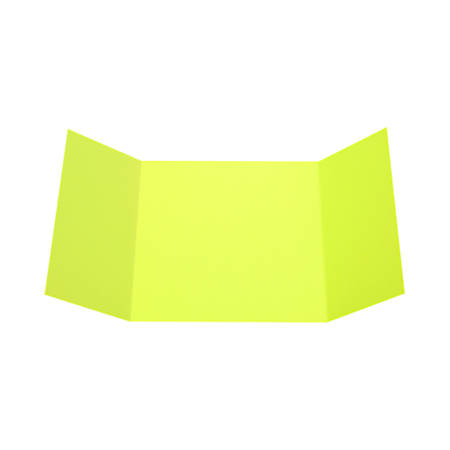"LUX Gatefold Invitation Envelopes, 6 1/4"" x 6 1/4"", Wasabi, Pack Of 10"