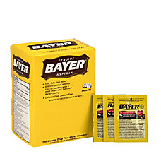 Bayer Aspirin 2 Tablet Dosage Box