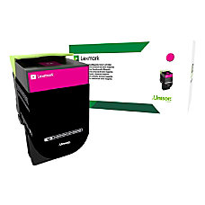 Lexmark 71B10M0 Return Program Magenta Toner