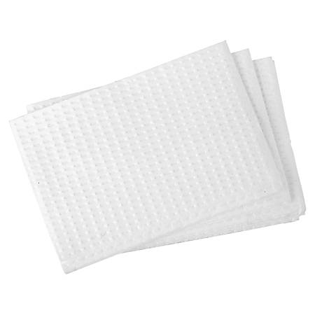 "Rochester Midland Changing Table Liners, 2-Ply, 13-3/8"" x 18"" Folded, White, Pack of 500"