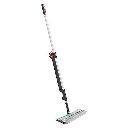 """Rubbermaid® Executive Series Double-Sided Pulse Mop, 52"""" x 4 1/4"""" x 3 1/2"""", Silver"""