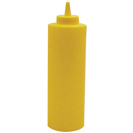 Winco Squeeze Bottle, 24 Oz, Yellow