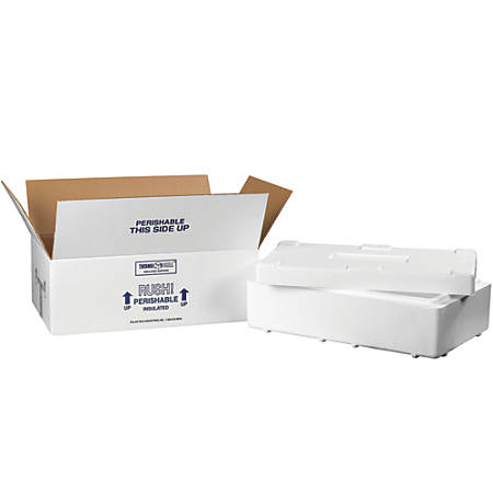 Office depot brand insulated shipping kit 4 18 h x 11 12 w for Insulated office