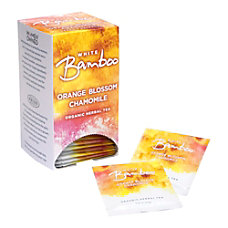 White Bamboo Organic Tea Orange Blossom