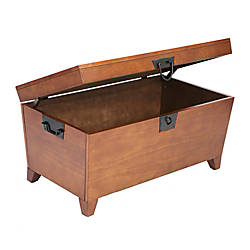 Southern Enterprises Pyramid Trunk Cocktail Table
