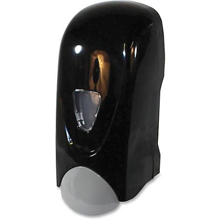 Genuine Joe 1000 ml Foam Soap Dispenser - Manual - 1.06 quart Capacity - Black, Gray - 1Each