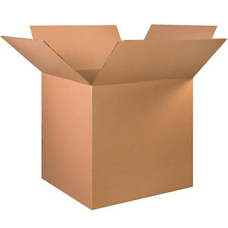 "Office Depot® Brand Double-Wall Heavy-Duty Corrugated Cartons, 32"" x 32"" x 32"", Kraft, Box Of 5"