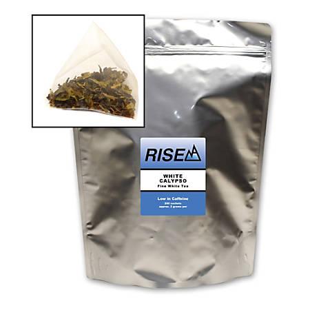RISE NA White Tea, 8 Oz, Bag Of 200 Sachets