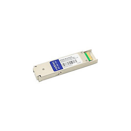 AddOn MSA and TAA Compliant 10GBase-BX XFP Transceiver (SMF, 1330nmTx/1270nmRx, 40km, LC, DOM)