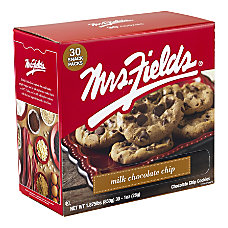 Mrs Fields Milk Chocolate Chip Cookies