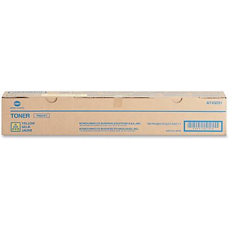 Konica Minolta TN-216Y Original Toner Cartridge - Laser - 26000 Pages - Yellow - 1 Each