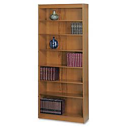 Safco Square Edge Veneer Bookcase 7
