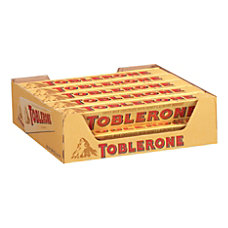 Toblerone Milk Chocolate Bars 35 oz