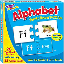 Trend Fun To Know Puzzle Alphabet