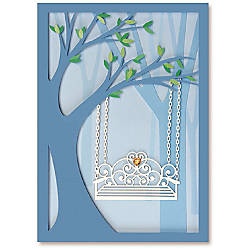 Viabella Anniversary Greeting Card Side By