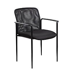 Boss Office Products Stackable Chair Mesh