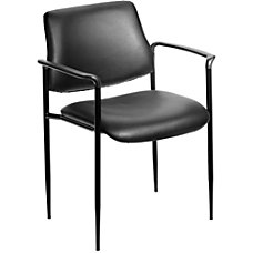 Boss Office Products Stackable Chair Black