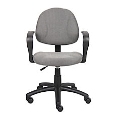 Boss Office Products Fabric Deluxe Posture