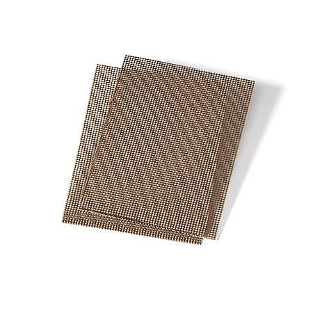 "3M™ Niagara™ 200N Griddle Screens, 4"" x 5 1/2"", Brown, 20 Pads Per Pack, Case Of 10 Packs"