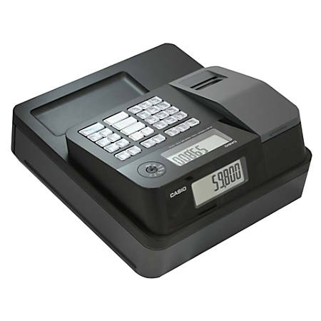 Casio® PCR-T273 Electronic Cash Register With Thermal Printer, Black