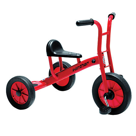 """Winther Viking Tricycle, Medium, 24 7/16""""H x 20 1/2""""W x 31 1/8""""D, Red"""
