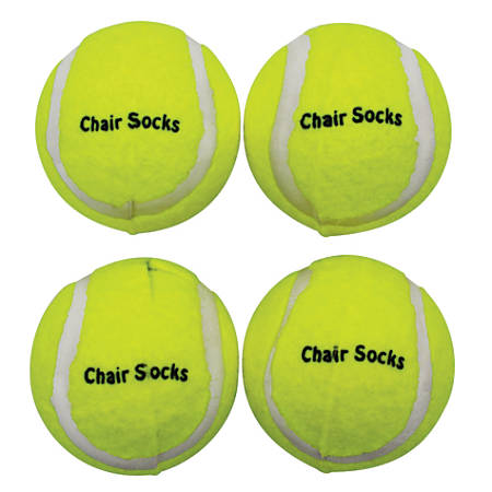 The Classics Chair Soxs, Yellow, Pack Of 36, 4 Packs