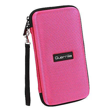 Guerrilla Calculator Zipper Case For Graphing Calculators, Pink, G1-CALCCASEPNK