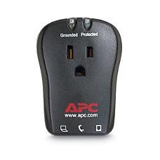 APC Essential Laptop SurgeArrest 1 Outlet