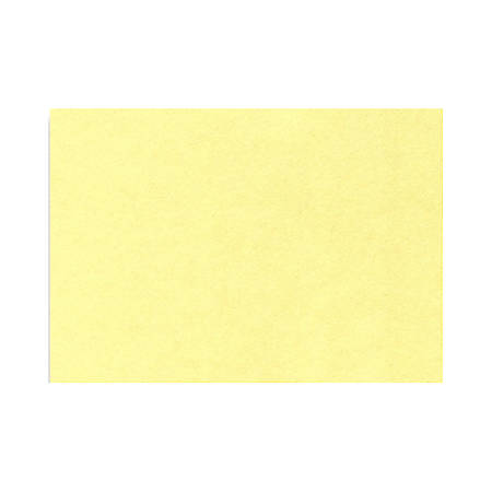 "LUX Mini Flat Cards, #17, 2 9/16"" x 3 9/16"", Lemonade Yellow, Pack Of 1,000"