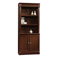 Sauder Palladia Collection Library With Doors
