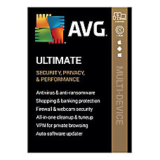 AVG Ultimate 2020 5 Devices 1