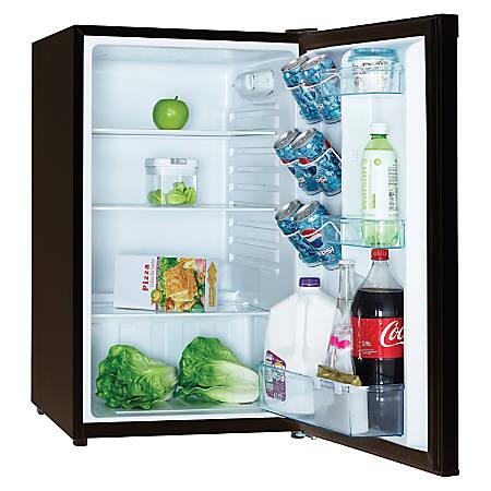 Avanti AR 4446B 4.4 Cu Ft Compact Refrigerator, Black