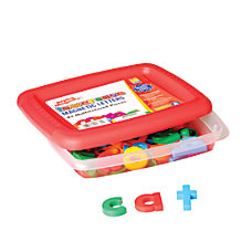 AlphaMagnets Lowercase Letters Assorted Colors Pack