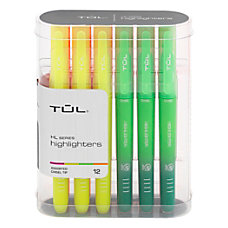 TUL Highlighters Chisel Point Assorted Barrel
