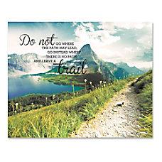 Advantus Leave A Trail Motivational Canvas