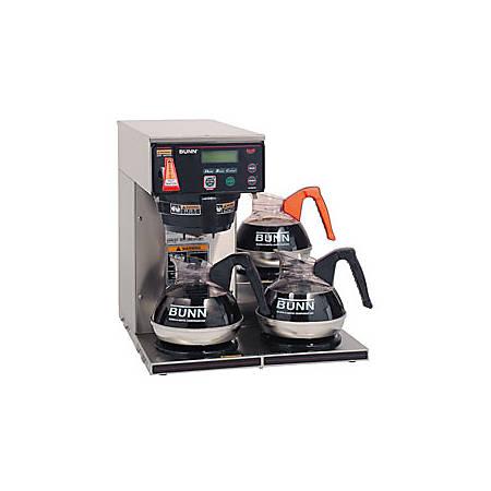 Bunn® 12-Cup Digital 3-Warmer Commercial Brewer