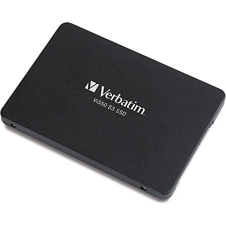 "Verbatim 256GB Vi550 SATA III 2.5"" Internal SSD - 560 MB/s Maximum Read Transfer Rate - 3 Year Warranty"
