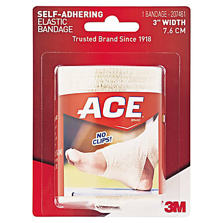 """ACE Athletic Support Wrap, 3"""" Width, Tan"""