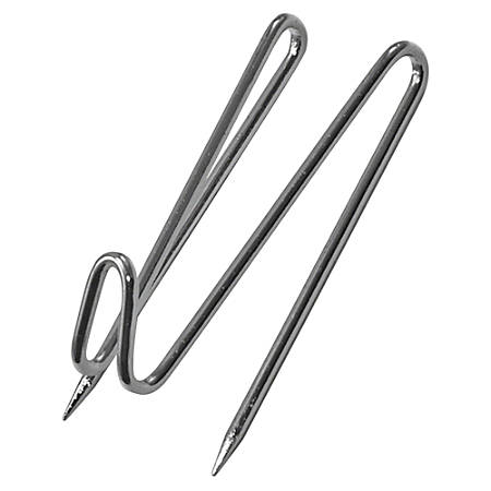 Advantus Panel-Wall Wire Hooks, Silver, Pack Of 25